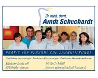 Dr. med. dent. Arndt Schuchardt - Parodontologe Hille-Hartum