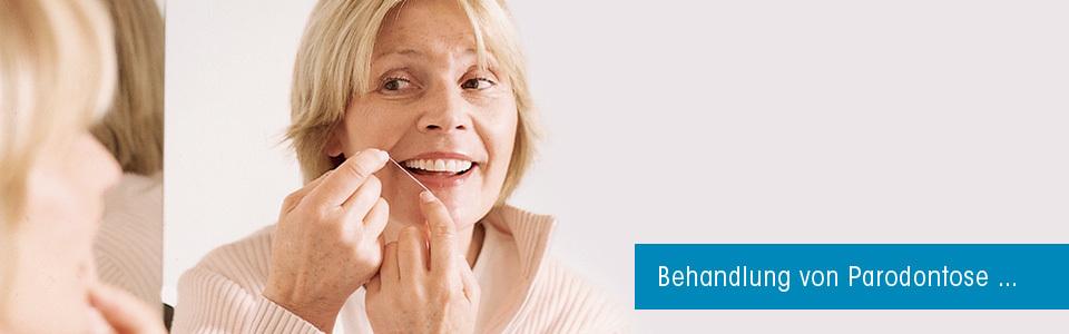 Parodontose Behandlung